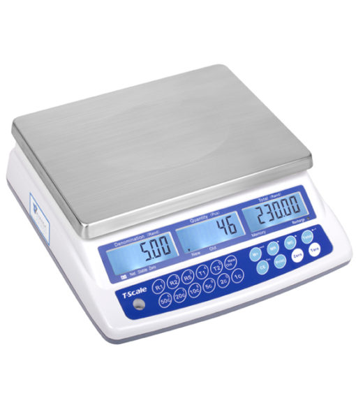 AVANSA Bulk Coin Scale 4600 Coin Counter left preview