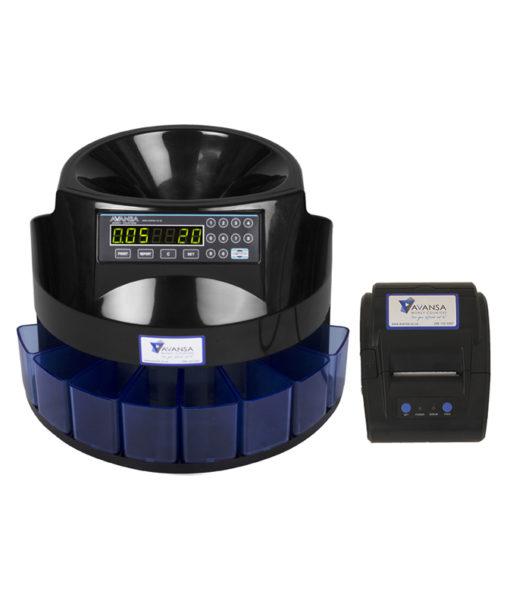 AVANSA Super Coin 1100 Coin Counter with Printer