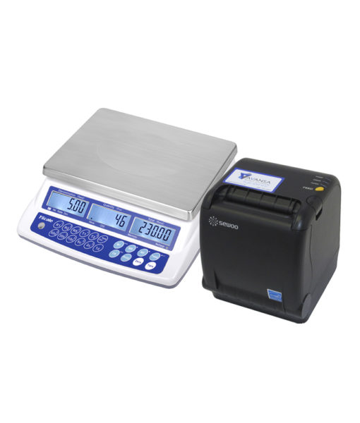 AVANSA Bulk Coin Scale 4600 Coin Counter with Printer right preview